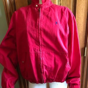 Mens size Large Ralph Lauren Polo red jacket